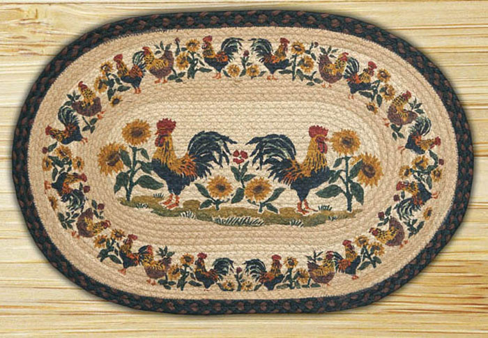 Country Morning Braided Jute Rug, by Capitol Earth Rugs