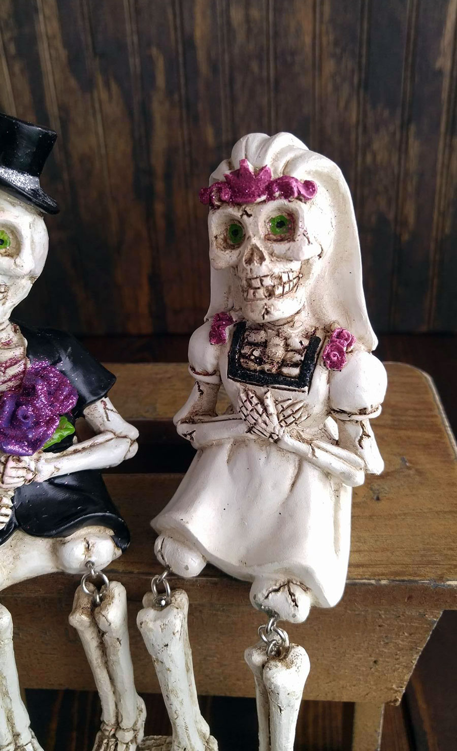 Day Of The Dead Figurines Wedding Couple By Hanna S The