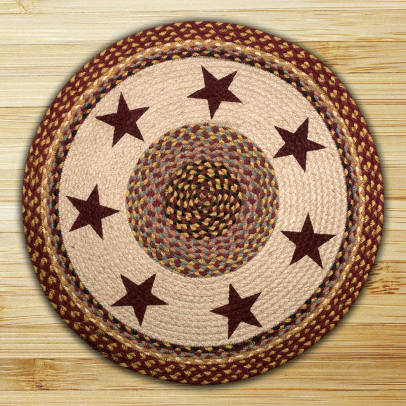 Stars braided jute rug by capitol earth rugs the weed for Where to buy round rugs