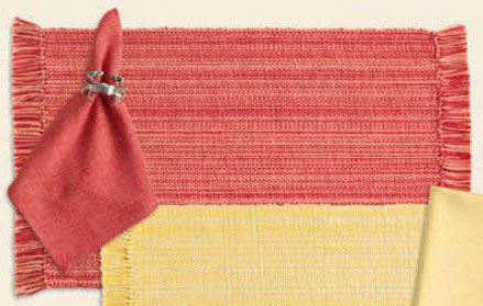 Sun Kissed Corals Coastal Napkin, by Design India Imports