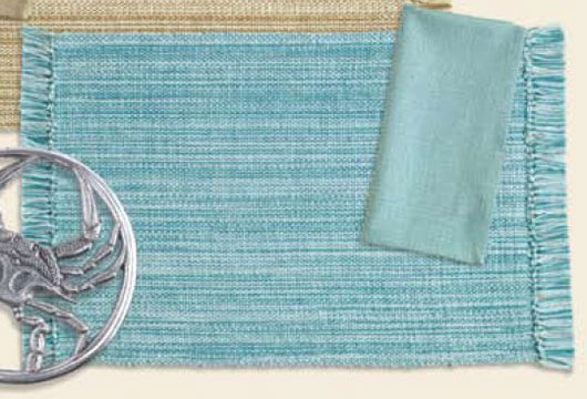 Beach Glass Coastal Napkin, by Design India Imports