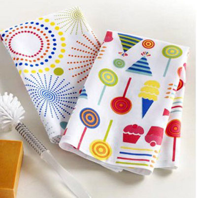 Party Dishtowel, by Tag