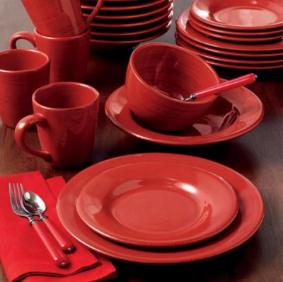 Red Sonoma Dinnerware, by Tag