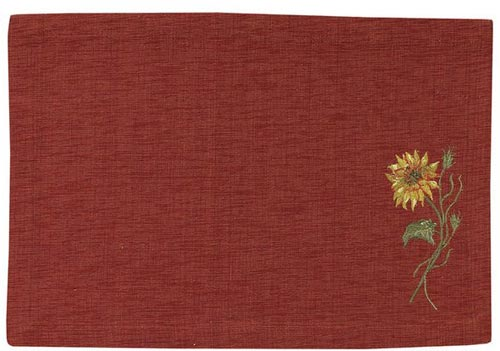 Sunflower Placemat, by Park Designs