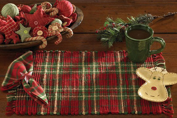 Cranberry Spice Placemat, by Park Designs
