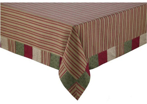 Merry Christmas Tablecloth, by Park Designs