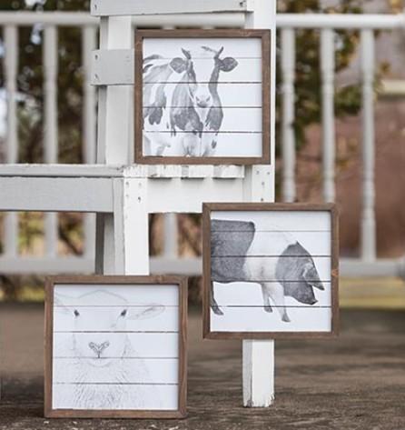 Farmhouse Framed Signs