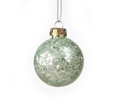 Blue Broken Glass Ornament, by Ragon House