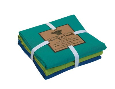 Aquatic Flour Sack Towel Set, by Kay Dee Designs
