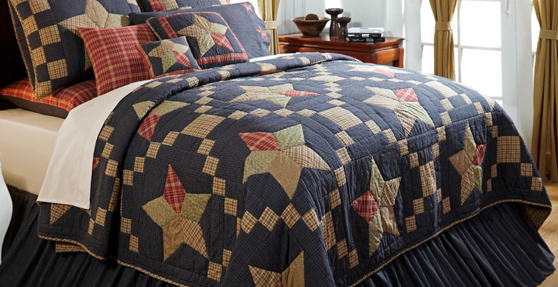 Arlington King Quilt, by Victorian Heart