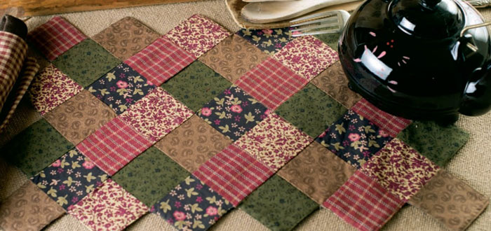 Berkshire Placemats, by Victorian Heart