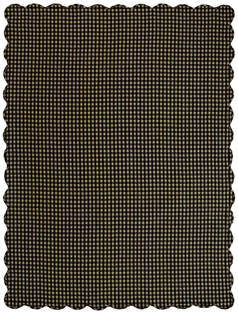 ... Black Check 60 X 80 Inch Tablecloth, By Nancyu0027s Nook
