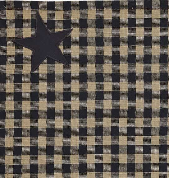 Black Star Fabric