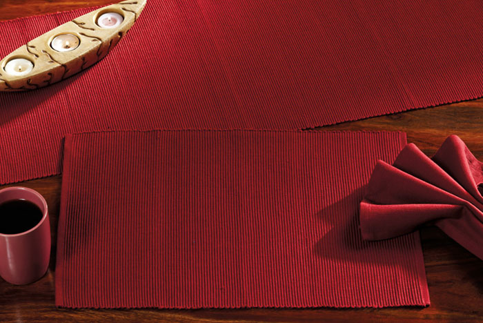 British Red Solid Napkins, by Nancy\'s Nook for Victorian Heart