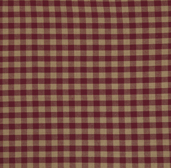 Burgundy Check Swatch