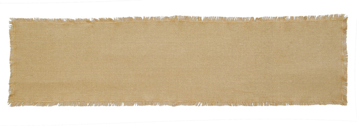 Burlap Tablerunner, by Victorian Heart