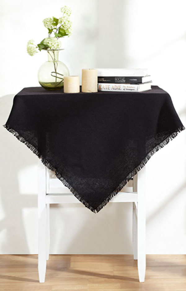 Burlap Tablecloth, by Victorian Heart