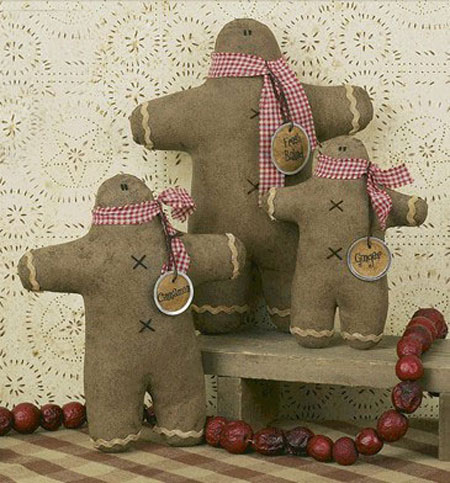 Gingerbread Doll, by Honey and Me