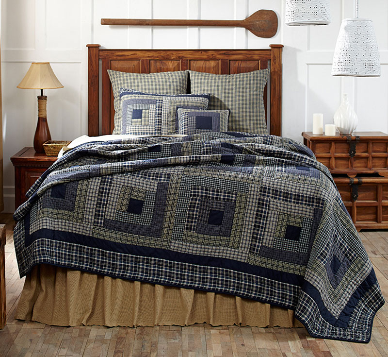 Columbus Quilt Set, by Victorian Heart.