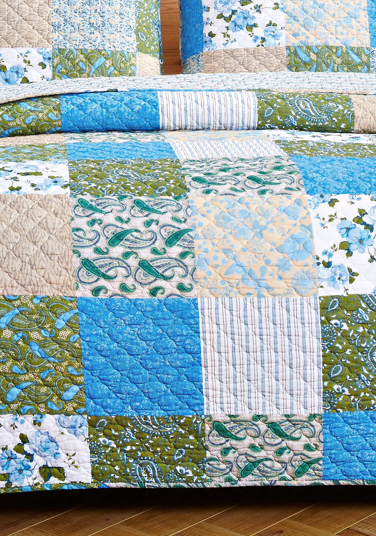 Country Garden King Size Quilt Set, by Olivia's Heartland