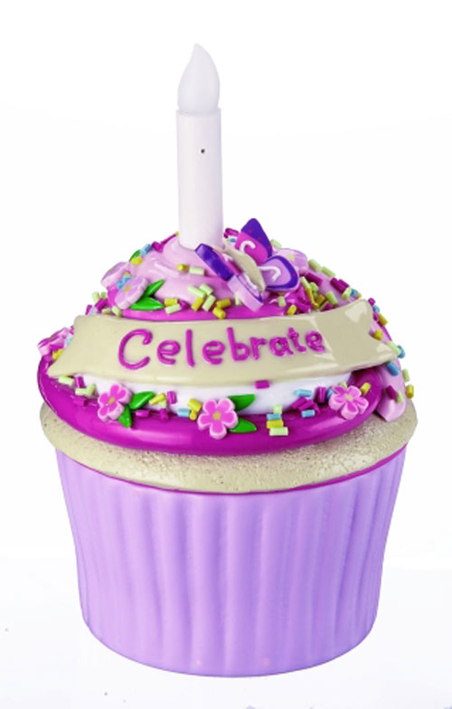 Celebrate Blow-out Cupcake Trinket Box, by Ganz