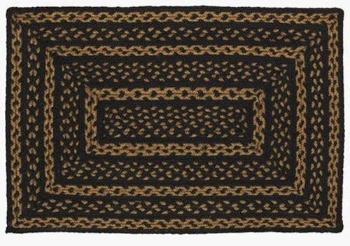 Farmhouse Star Jute Rug, by Victorian Heart