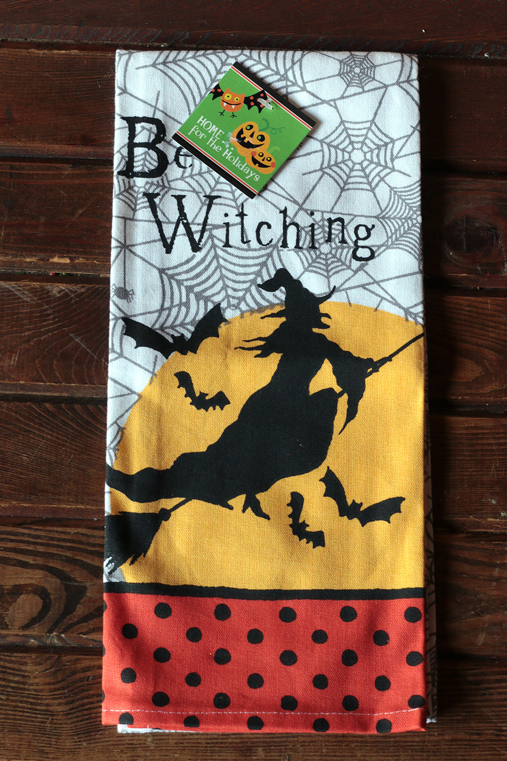 Be Witching Tea Towel, by Kay Dee Designs. - The Weed Patch