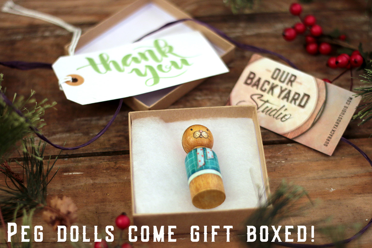 Dolls arrive gift boxed!