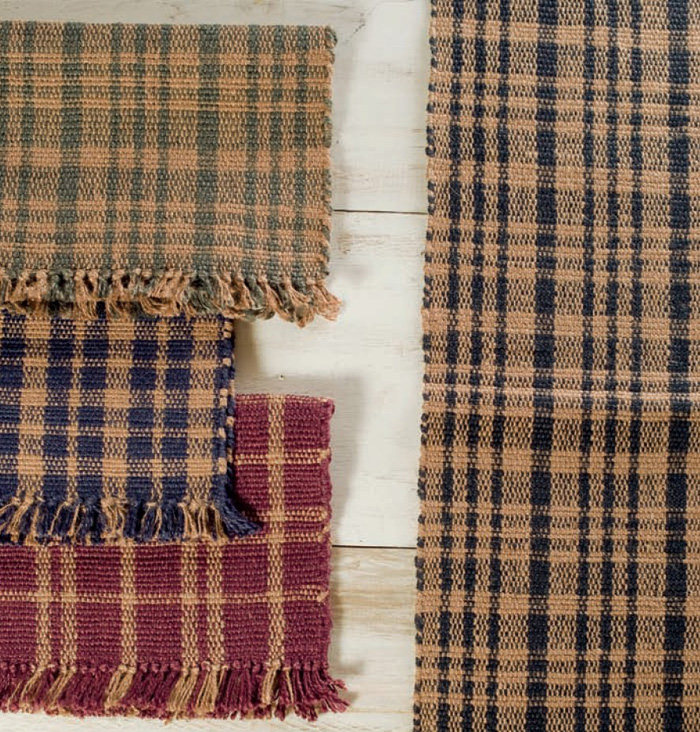 Plaid Jute Collection, by Victorian Heart