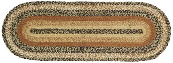 Kettle Grove Jute 48 inch Tablerunner, by Victorian Heart