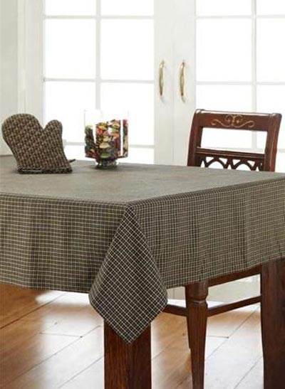 Kettle Grove Plaid Tablecloth, by Victorian Heart