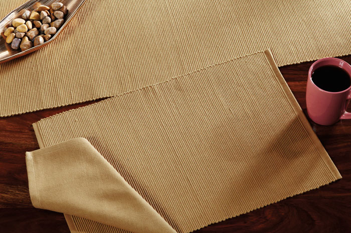 Khaki Solid Placemats, by Nancy\'s Nook of Victorian Heart