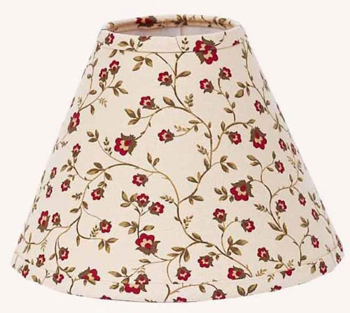 Linden Floral Plaid Lampshade, by Raghu