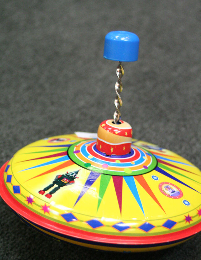 Spinning Top Toy, by Alexander Taron.