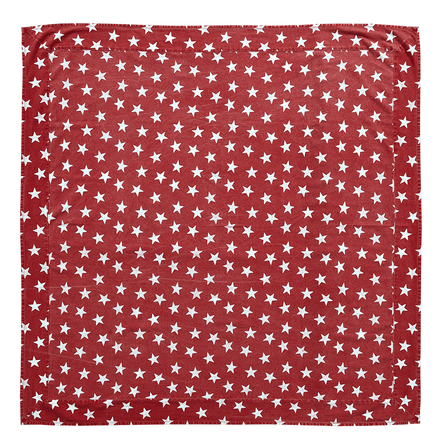 Multi star red 60 x 120 tablecloth by victorian heart for Tablecloth 52 x 120