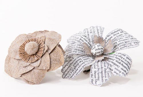 Glittered Flower Ornament, by One Hundred 80 Degrees