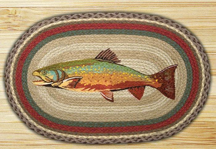 Trout Braided Jute Rug, by Capitol Earth Rugs