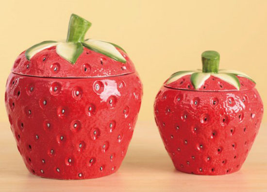 Strawberry Canister