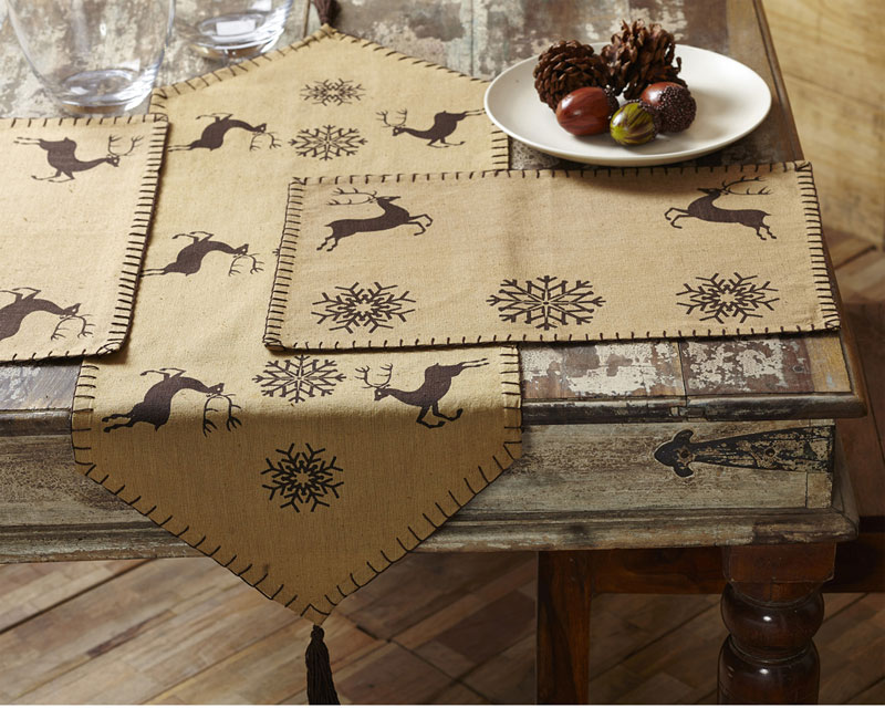 Prancer Placemats, by Nancy's Nook.
