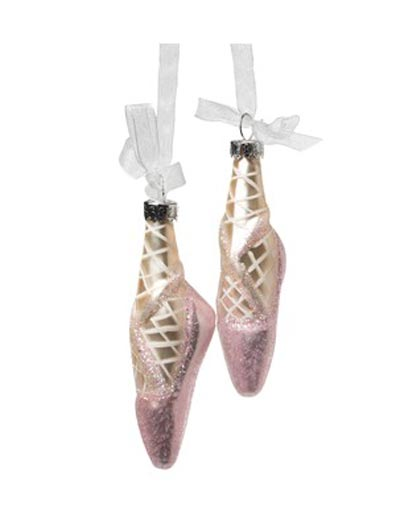Ballet Shoe Ornament, by Abbot