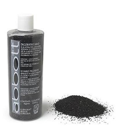 Decorative Black Sand, by Abbott Collection