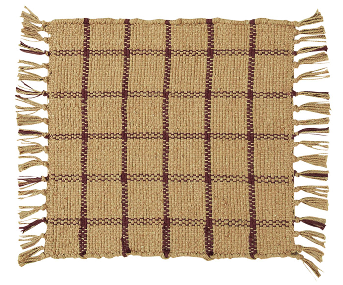 Camden Rib Weave Tablemat, by Victorian Heart