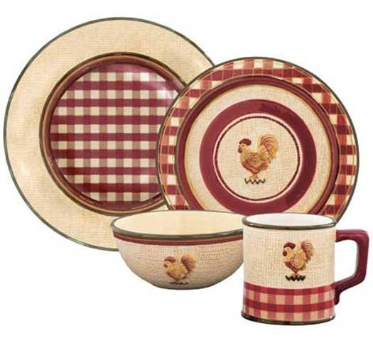 Rise N Shine Dinnerware, by Park Designs