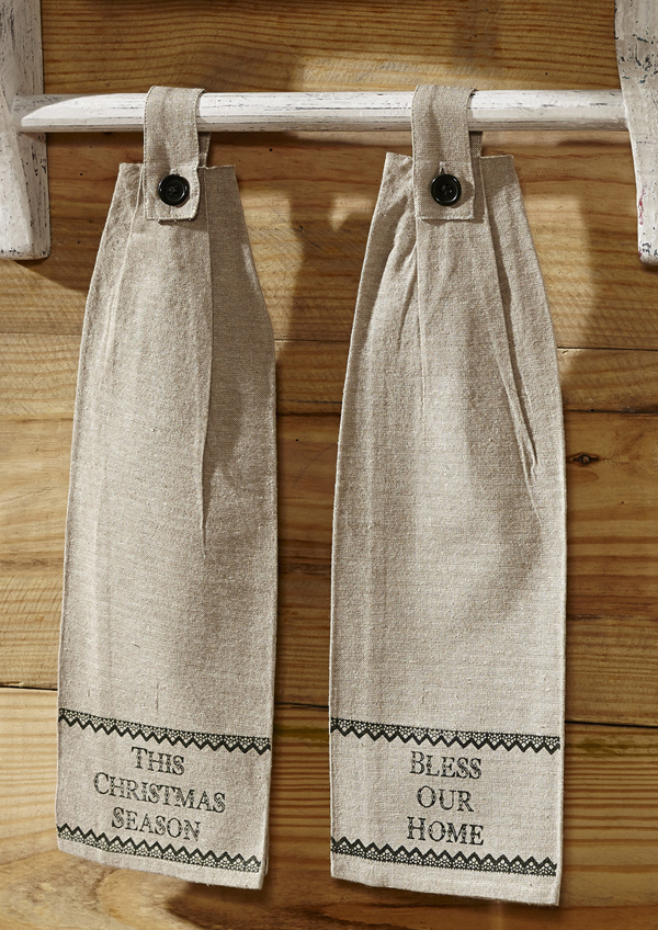 Timberland Hanging Kitchen Towels