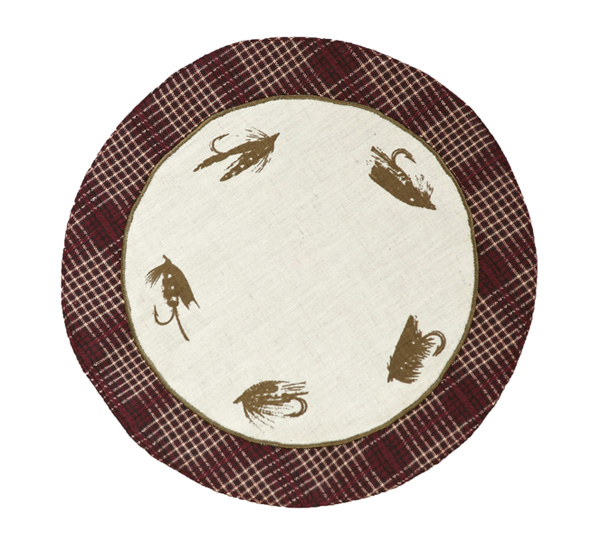 Truman Fly Tablemat, by Victorian Heart