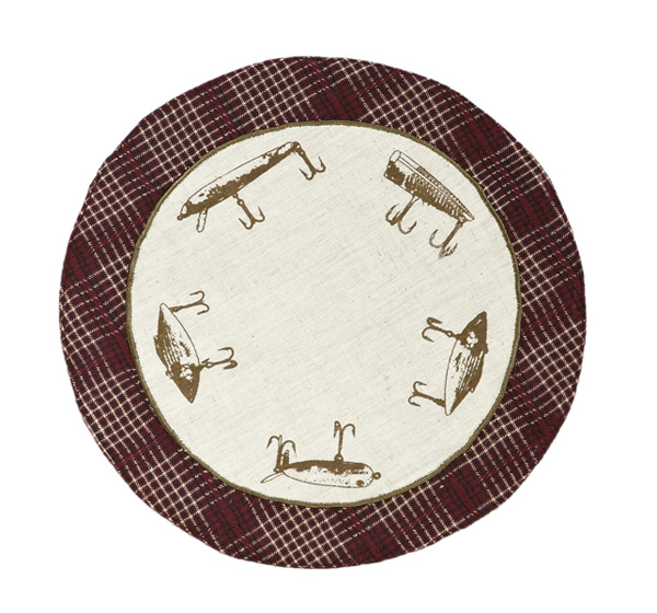Truman Lure Tablemat, by Victorian Heart