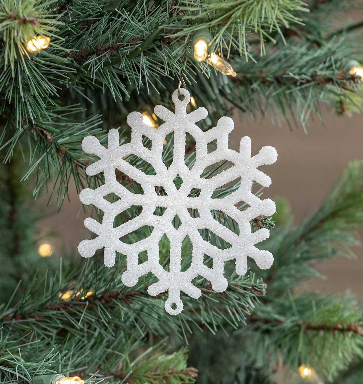 White Snowflake Ornaments The Weed Patch