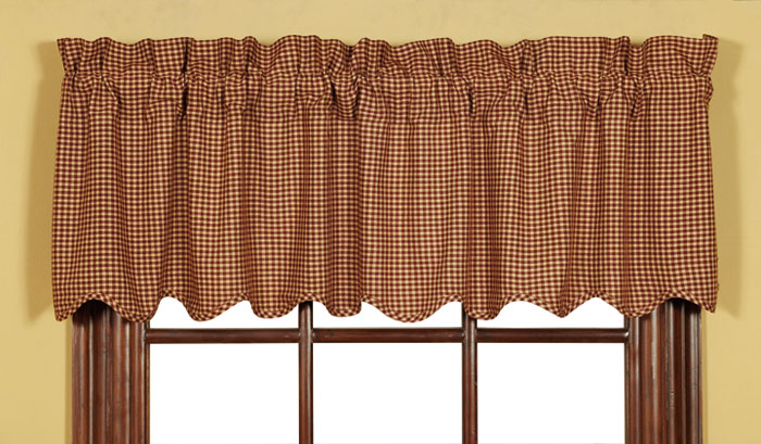 Winslet Scalloped Valance, by Victorian Heart
