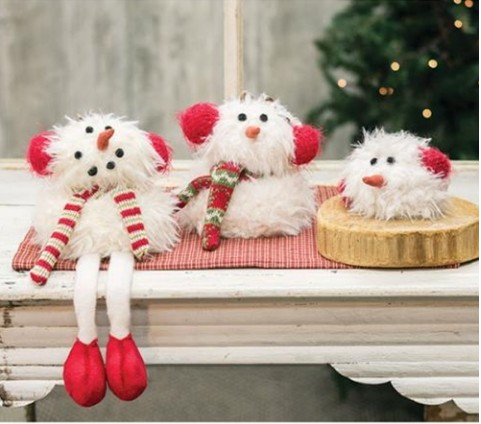 Furry Snowmen