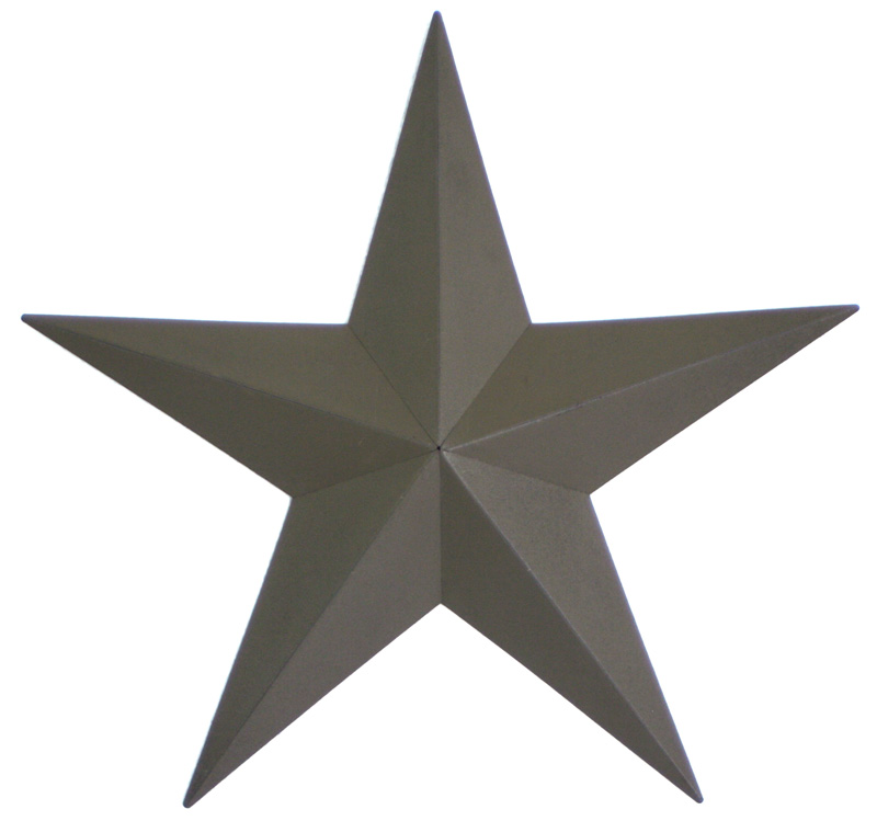 Primitive Wall Star, Green (18 inch size shown here)